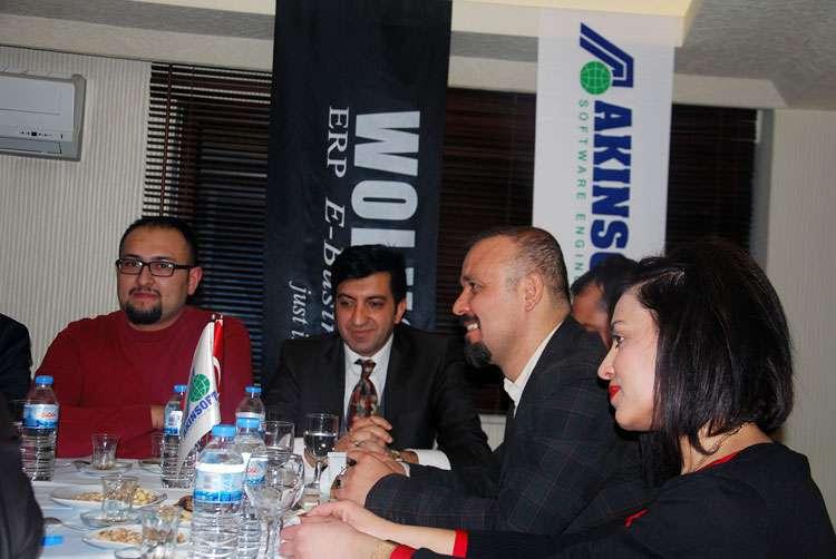 AKINSOFT Yönetim Kurulu Başkanı Dr Özgür AKIN AKINSOFT Sivas Çözüm Ortakları Toplantısı nda - 2