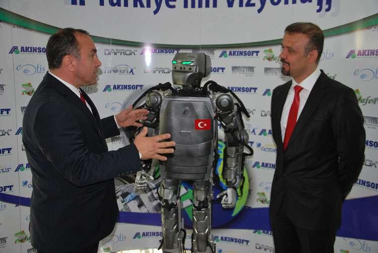 Arnavutluk Cumhuriyeti Büyükelçisi nin AKINSOFT Ziyareti - 2