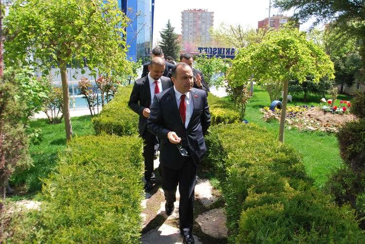 Arnavutluk Cumhuriyeti Büyükelçisi nin AKINSOFT Ziyareti - 11