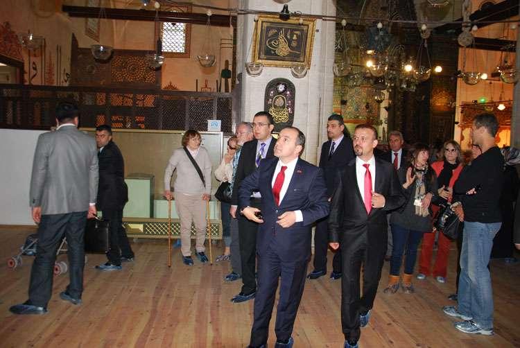 Arnavutluk Cumhuriyeti Büyükelçisi nin AKINSOFT Ziyareti - 12