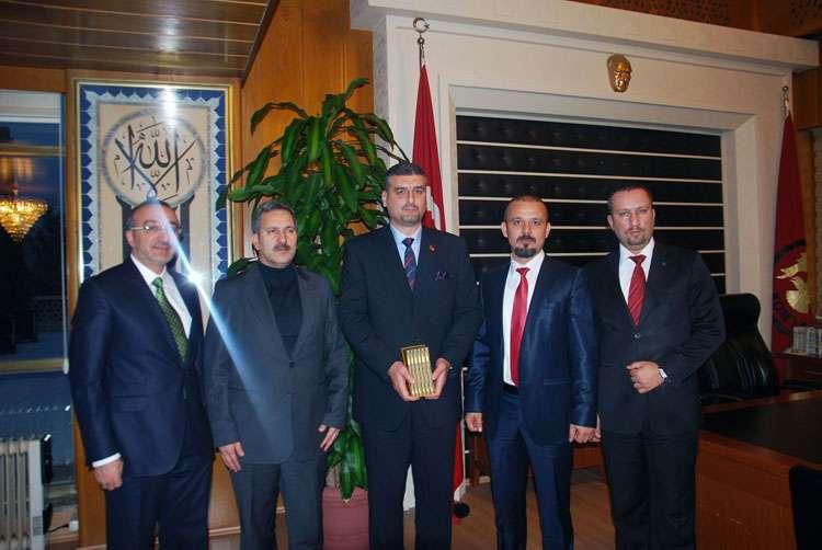 Arnavutluk Cumhuriyeti Büyükelçisi nden Dr Özgür AKIN ve Konya ya Ziyaret - 5