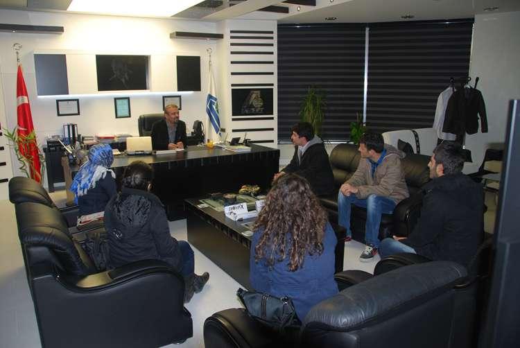 SÜ Kamu Yönetimi Bölümü Öğrencilerinden AKINSOFT Ziyareti