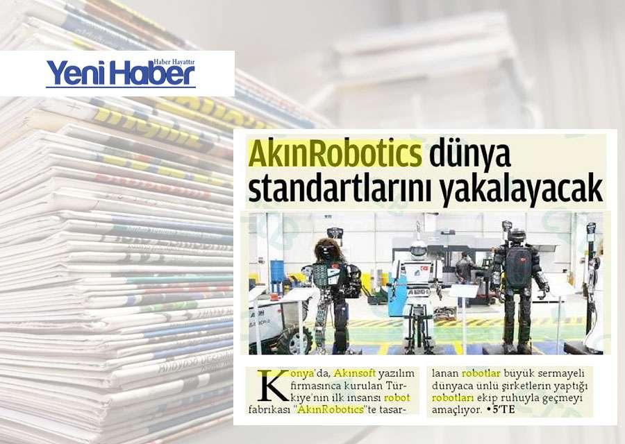 Yerli Robotlar Dünya Standartlarını Yakalayacak Konulu Basında Yer Alan Haberler - 14