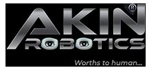 AKINROBOTICS Humanoid Robot Factory LOGO