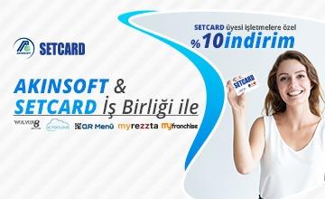 AKINSOFT - SetCard İş Birliği