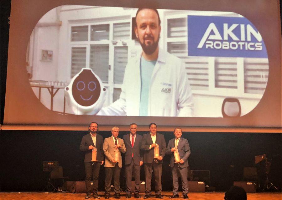 AKINROBOTICS'e Bir Ödül de Selçuk Üniversitesi'nden!