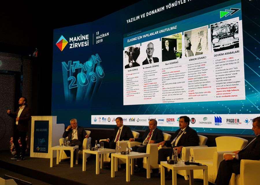 Dr Özgür AKIN İstanbulda Düzenlenen Vizyon 2030  Makine Zirvesinin Konuğu Oldu
