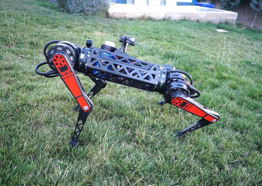 4 Ayaklı Robot ARAT Gelişmeye Devam Ediyor