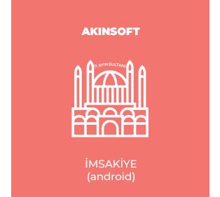 AKINSOFT İmsakiye (Android)