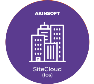 AKINSOFT SiteCloud Mobil (IOS)