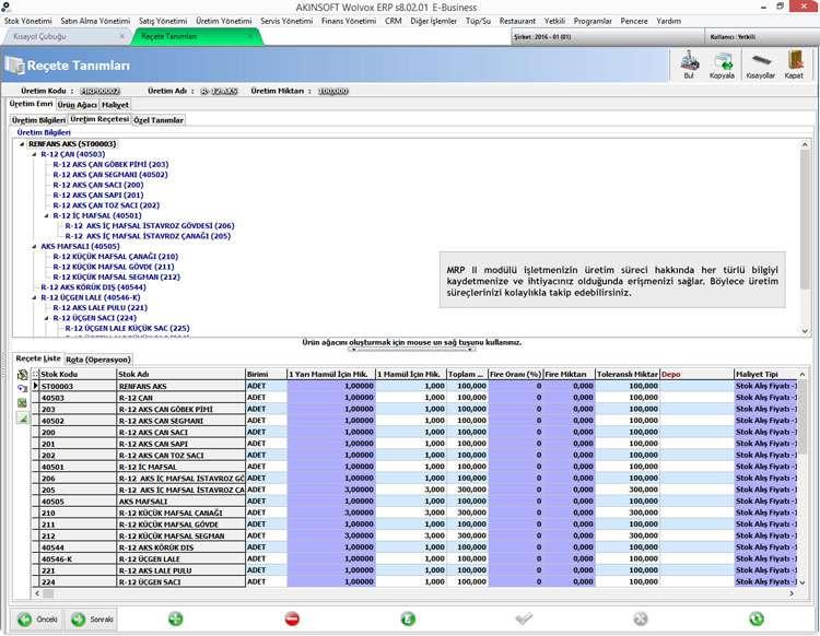 cb4976c19bd10 AKINSOFT Wolvox, ERP Programı, ERP, MRP, Ön Muhasebe